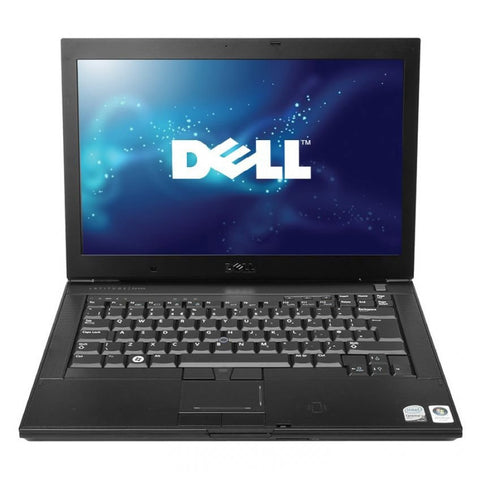 "(nSpire) Cheap Dell Latitude E5400 Core 2 Duo 4GB 160GB 14.1"" Windows 10 Laptop - Front"
