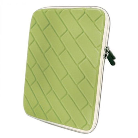 "9.0"" - 10"" Tablet/Netbook Nylon Sleeve Case Green - nSpire"