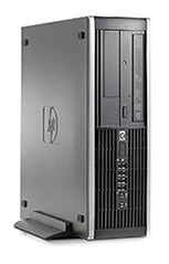 (nSpire) Refurbished Cheap Hp Elite 8000 Core 2 Duo 4GB 500GB SFF W10 Desktop - Front