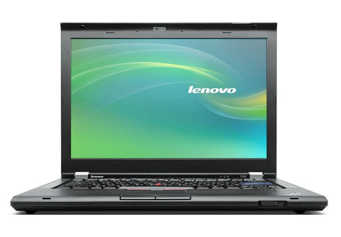 "(nSpire) Lenovo ThinkPad T420 14.0"" Core i5 2nd Gen 4GB 320GB Windows 10 Laptop - Front"