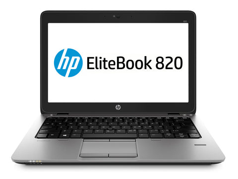 "(nSpire) Refurbished Hp Elitebook 820 G2 12.5"", i5-5300U, 8GB, 240GB SSD Laptop - Front"