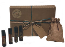 Energize Premium Essential Oils and Yoga Gift Set