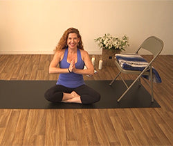 chair yoga for beginners digital downloads