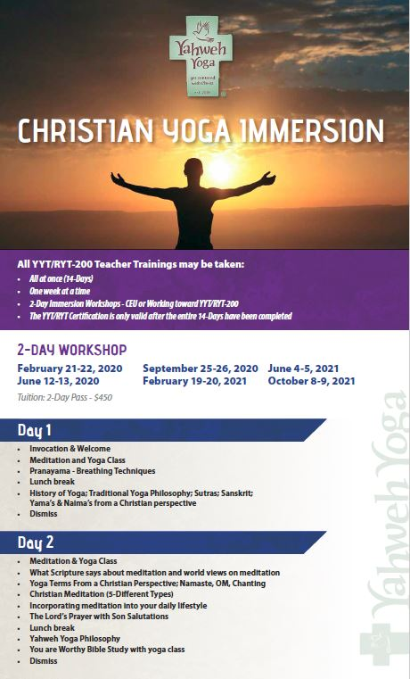 Christian Yoga Immersion