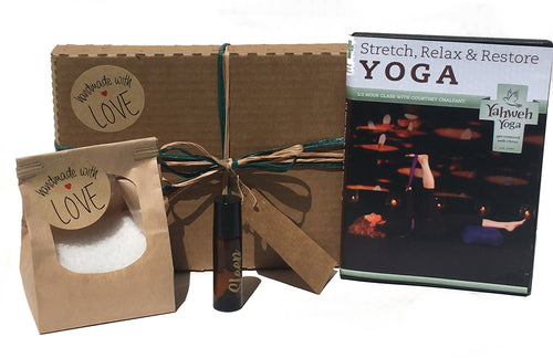 Sleep Premium Essential Oils and Yoga Gift Set