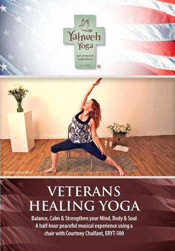 PTSD yoga DVD for veterans and first responders