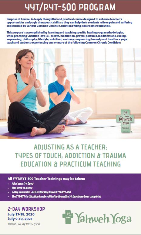 Adjusting as a teacher; Types of touch; Addiction & Trauma Education & Practicum Teaching