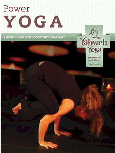 One Hour Power yoga DVD with Courtney Chalfant