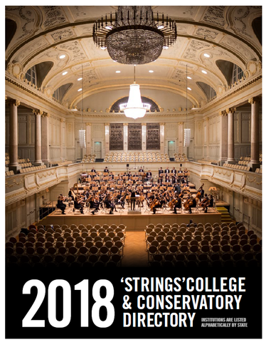 2019 College & Conservatory Directory