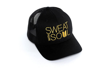 Sweat With Soul Trucker Black/Gold