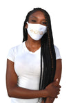 Be Kind Mask White/Gold