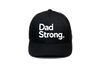 Dad Strong Trucker Black