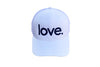 Love Period Trucker White