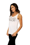 Woman Warrior Tank White