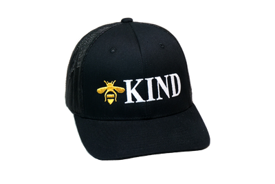 Be Kind Trucker Black