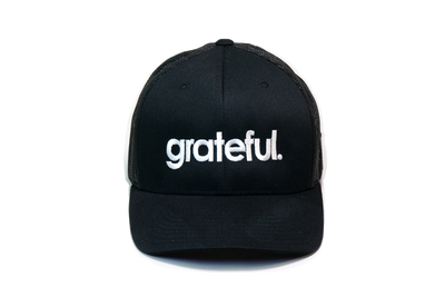 Grateful Period Trucker Black