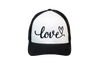Love Trucker Black/White/Black
