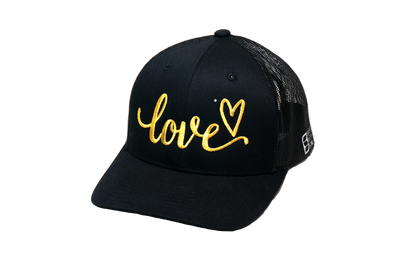 Love Trucker Black/Gold