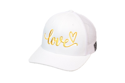 Love Trucker White/Gold
