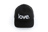 Love Period Trucker Black