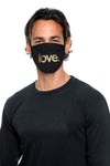 Love Period Mask Black/Gold