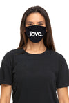 Love Period Mask Black/White