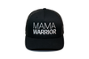 Mama Warrior Trucker Black