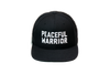 Peaceful Warrior Solid Baseball Black