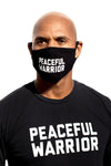 Peaceful Warrior Mask Black/White