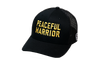 Peaceful Warrior Trucker Black/Gold