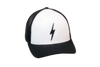 Thunderbolt Trucker Black/White
