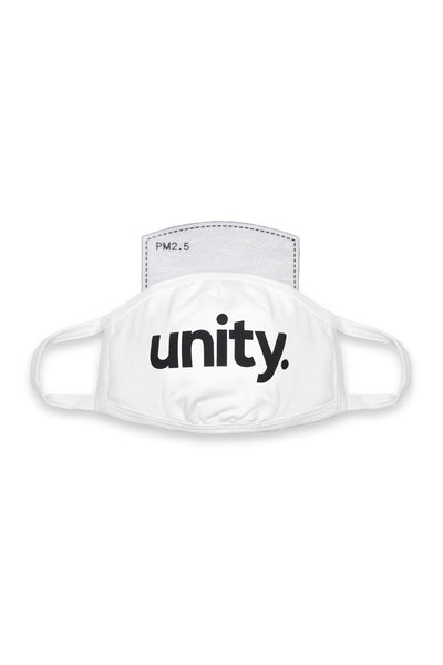 Unity Mask White/Black