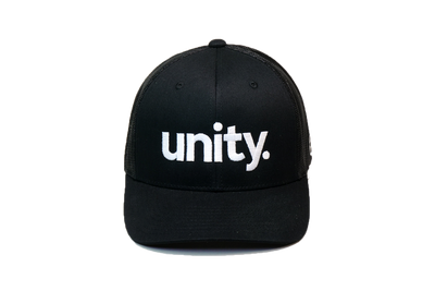Unity Trucker Black/White