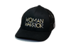 Woman Warrior Trucker Black