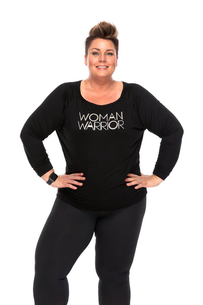 Woman Warrior Long Sleeve Tee