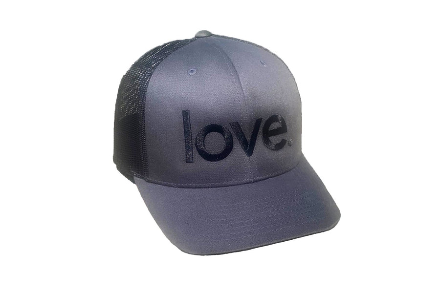 Love Period Trucker Charcoal/Black