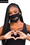 Be Kind Mask Black/Gold