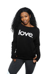 Love Period Fleece Long Sleeve Pullover