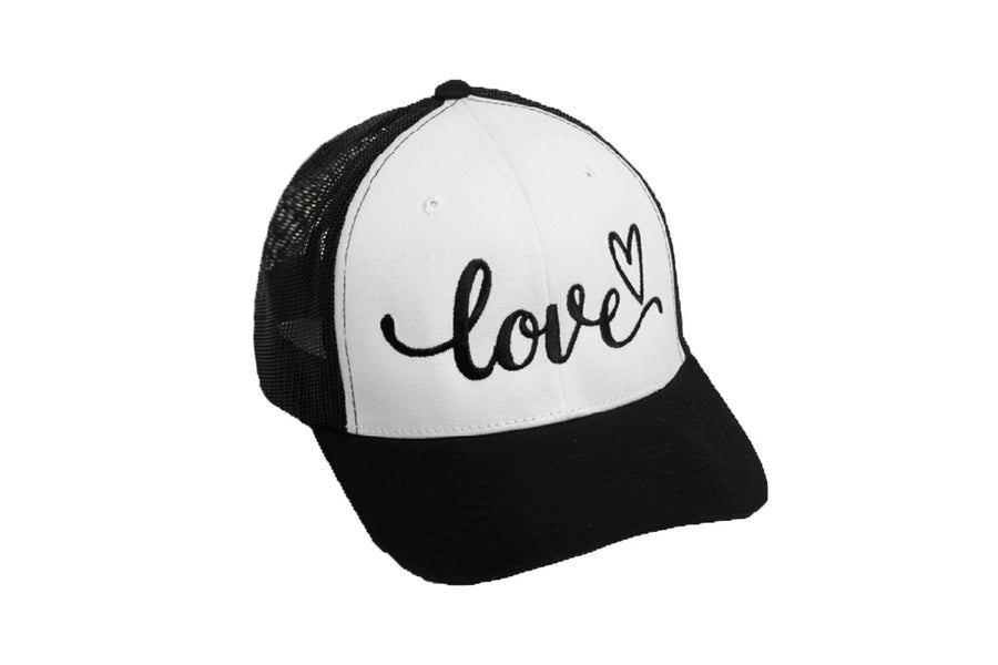 Love Trucker Black/White