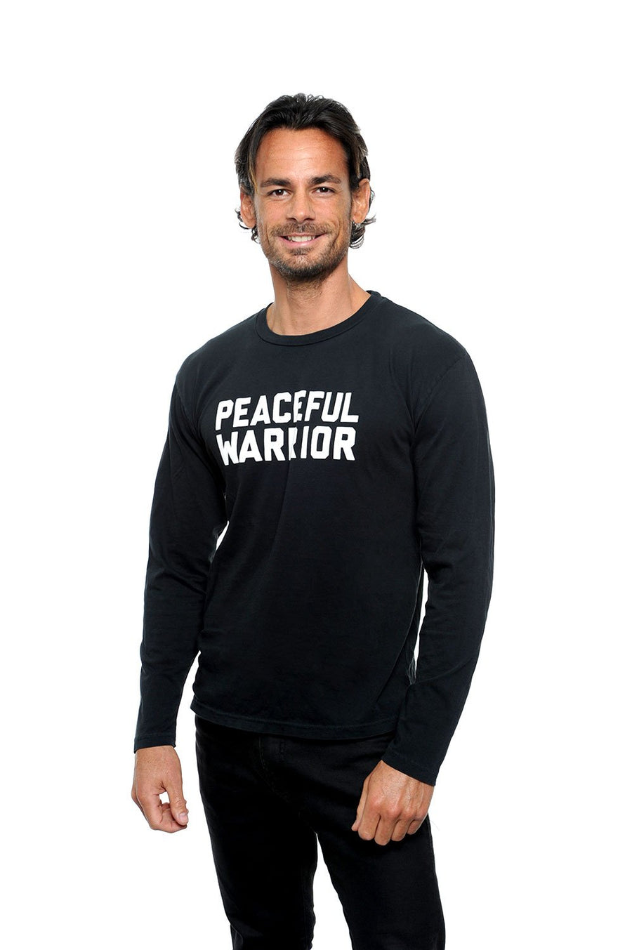 Peaceful Warrior Unisex Long Sleeve Tee