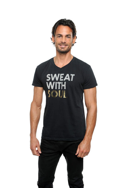 Sweat With Soul Unisex V-Neck Tee