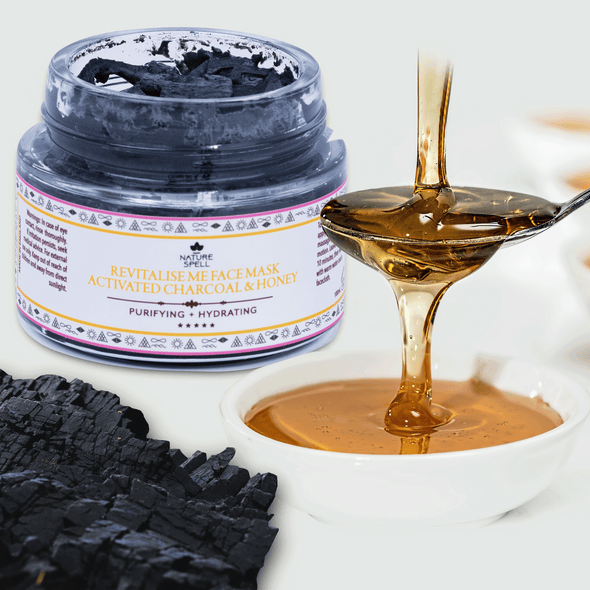 Activated Charcoal & Honey Purifying Face Mask