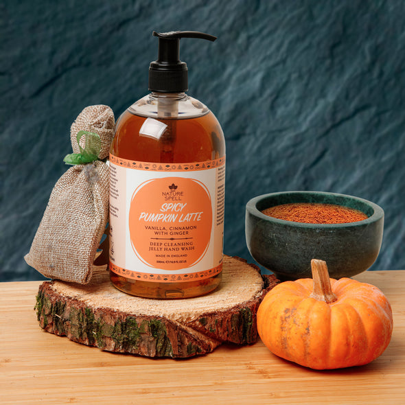 Spicy Pumpkin Latte Jelly Hand Wash