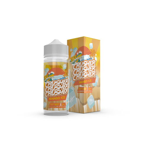 Crusher - Mango Ice - 100ml Shortfill - 0mg
