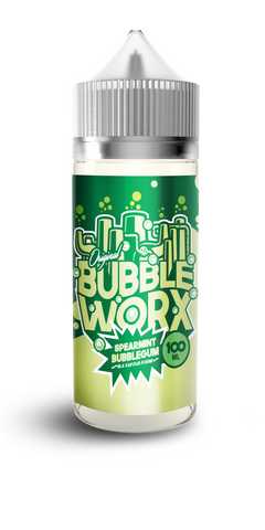 Bubbleworx - Spearmint - 100ml Shortfill - 0mg