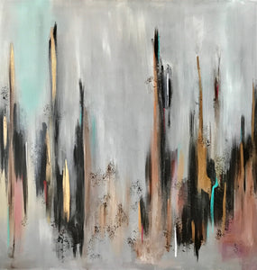 "0103 – City Lights – 36"" X 36"""