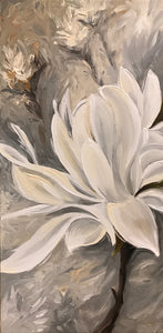 "Magnolia Duet Right 10"" X 20"""