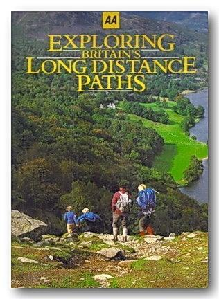 AA - Exploring Britain's Long Distance Footpaths (2nd Hand Hardback) | Campsie Books