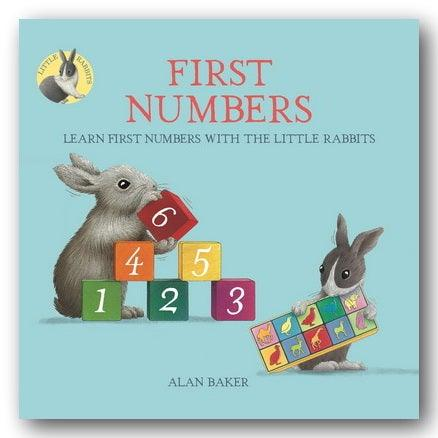 Alan Baker - First Numbers (With The Little Rabbits) (New Paperback) | Campsie Books