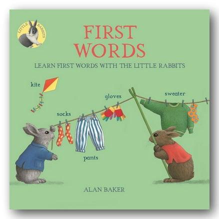 Alan Baker - First Words (With The Little Rabbits) (New Paperback) | Campsie Books